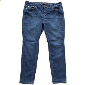 Torrid Slim Skinny Blue Jeans Womens Size 20